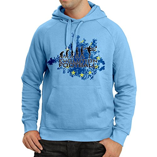 fan products of N4454H Hoodie Football Evolution in EU (Medium Blue Multicolor)