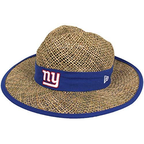 New York Giants Training Camp - New Era Men's NFL Natural On Field Training Camp Hat (New York Giants)