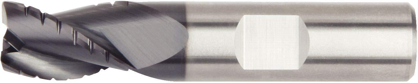 0.1875 Cutting Diameter 0.1875 Shank Diameter 3-Flute Carbide WIDIA Hanita 4Q4305000XW 4Q43 HP Roughing End Mill 0.01 Radius RH Cut AlTiN Coating