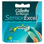 Gillette Sensor Excel For Women Refil...