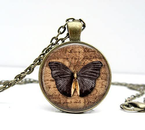 Amazon.com: Butterfly Necklace - Butterfly Jewelry
