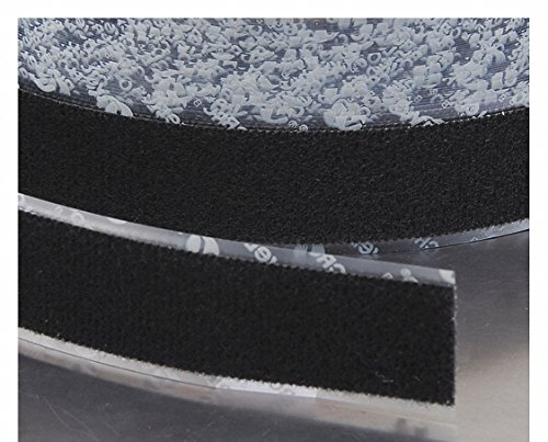 VELCRO Brand Loop 1000 PSA 72 - 25 Yard Roll 2'' Wide, Black by VELCRO Brand