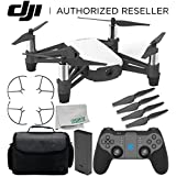 Ryze Tello Quadcopter Drone with HD camera and VR - powered by DJI technology and Intel Processor with GameSir T1d Bluetooth Gaming Controller Starter Travel Bundle