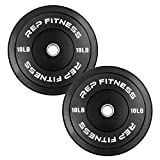 Rep Bumper Plates for CrossFit and Weightlifting 10 lb Pair Review