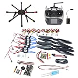 BGNing 2.4G 9CH 1000mm Carbon Octocopter PX4 PIX M8N GPS 8-Axle RC Drone Unassembled DIY ARF Kit No Battery FPV