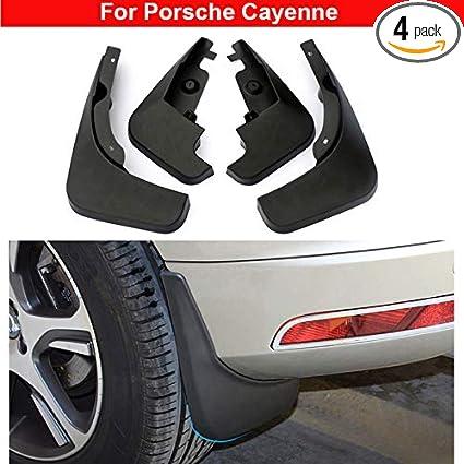 Amazon.com: 4pcs Plastic Tire Mudguard Splash Guards Mudguard Mud Flaps For Porsche Cayenne 2011 2012 2013 2014 2015 2016 2017 2018 2019: Automotive