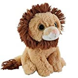 Toys R Us Plush 7 Inch Wide Eye Lion Brown
