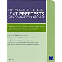 10 New Actual, Official LSAT PrepTests with Comparative Reading: (PrepTests 52-61)