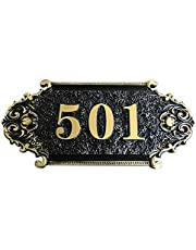 Huisnummerbord gepersonaliseerde huisnummer stickers deurplaat deurnummer leisteen naar wens weerbestendig huisnummerbord met gewenst nummer huisbord voor deur hotel tuin brievenbus