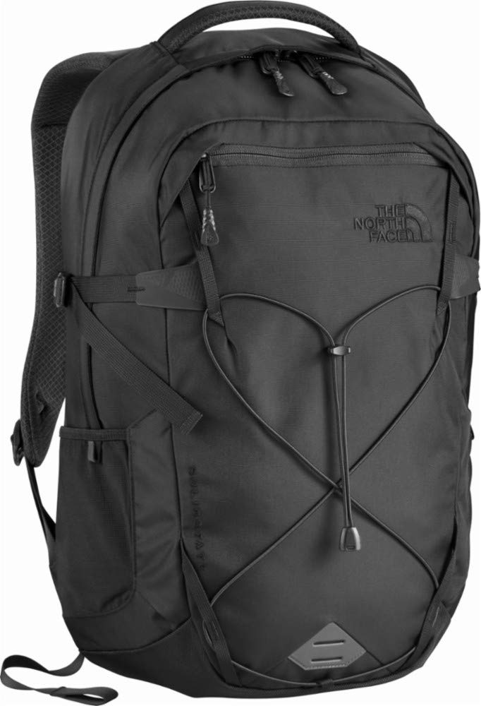 The North Face Men's Solid State Laptop Backpack, TNF Black/TNF Black by The North Face