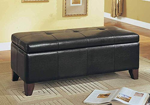 Remarkable Leather Storage Benches Dailytribune Chair Design For Home Dailytribuneorg