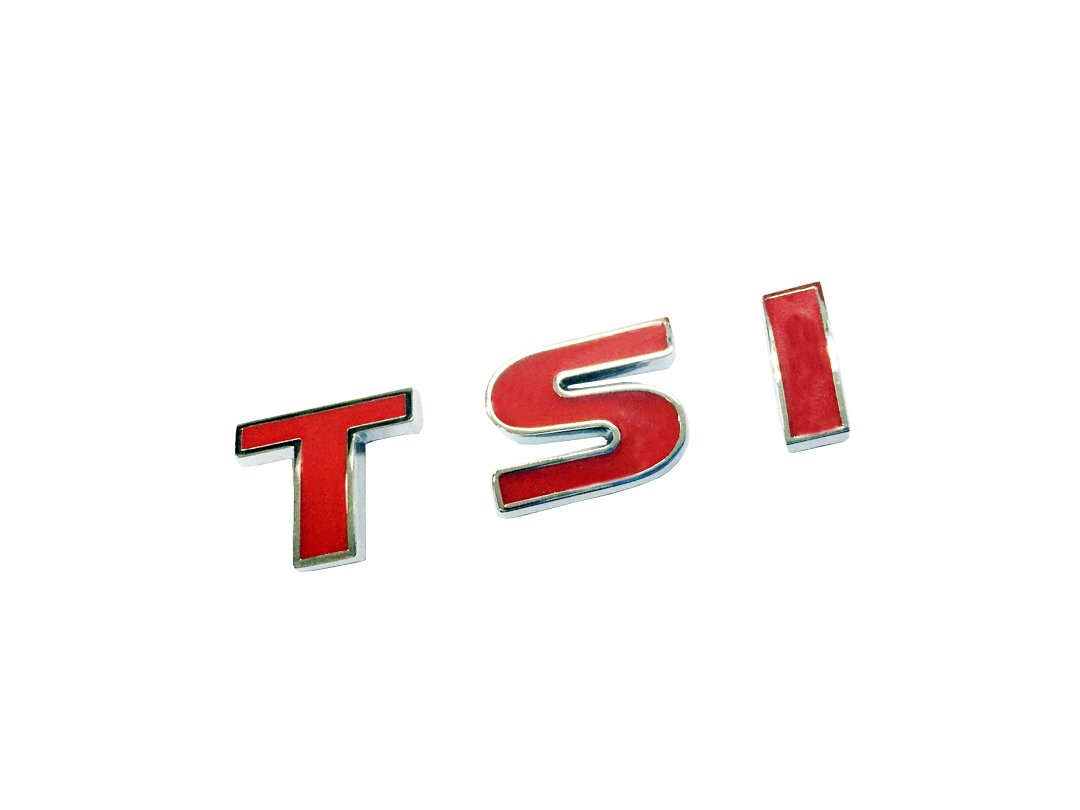 Dian Bin Small Red TSI Metal Sticker Vehicle-badge Logo Emblem for Volkswagen Vw Available
