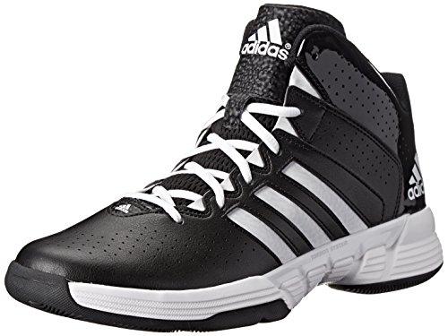 3594aa69b72f adidas Men s Cross  Em 3 Cblack Ftwwht Cblack Basketball Shoe 15 Men US   Amazon.co.uk  Shoes   Bags