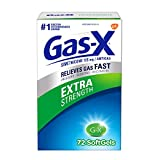 Gas X Gas Relief Extra Strength Gels, 72 count