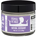 PRIMAL PIT PASTE All Natural Lavender Deodorant | 2 Ounce Jar | NO Aluminum, NO Parabens | For Women and Men of All Ages | Non-GMO, Cruelty Free, Earth Friendly, BPA Free