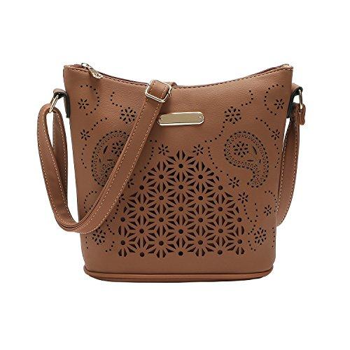 Floral Vintage Shoulder Bag - 9