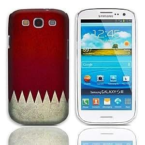 HC-Patrón de la bandera de la vendimia del estuche rígido con paquete de 3 protectores de pantalla para Samsung Galaxy S3 I9300