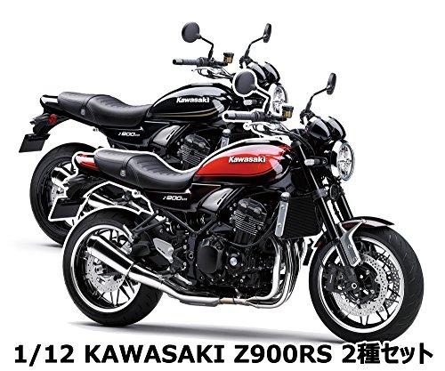 Aoshima Skynet 05016 Kawasaki Z900RS Candy Tone Brown x Candy Tone Orange 1/12 Scale Finished Model ()