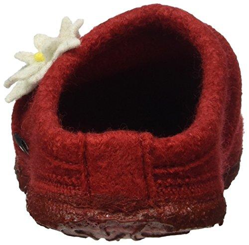 Ciabatte Rosso Donna Rockery 22 ziegelrot rot Nanga aqzp4wx