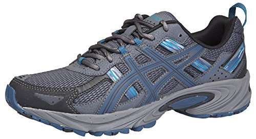 ASICS Men's Gel-Venture 5 Running Shoe (8.5 D(M) US, Black/Ink/Ocean)