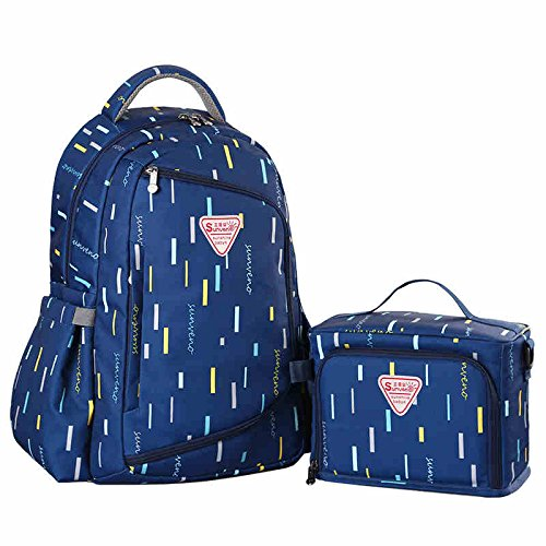 SUNVENO Multi-function Large Capacity Backpack Baby Diape...