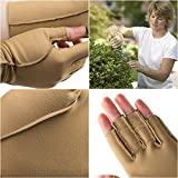 isotoner Therapeutic Gloves, Left, Open Finger, Small