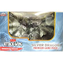 D&D Attack Wing Silver Dragon Premium Game Piece WZK 71986 by Wizkids