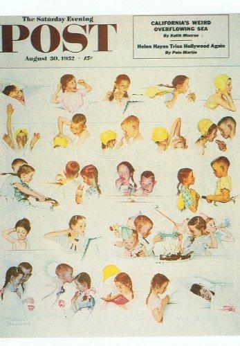 [해외]자이 서랍 미국제 놀만 락 웰의 포스트 카드 「 A DAY IN THE LIFE OF A GIRL 」 / This drawer is a postcard from the American-made Norman Rockwell \\