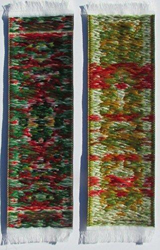 Oriental Carpet Bookmarks #3 - Authentic Woven Carpet (Set of 4) Photo #4