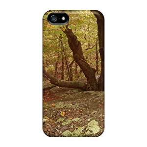 Samsung Galaxy S5 I9600/G9006/G9008 Case Slim [ultra Fit] Tree In Rocks Protective Case Cover