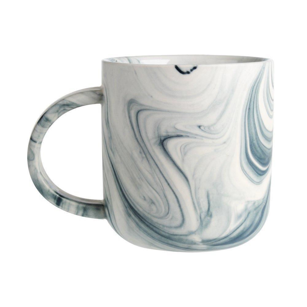 Douzi Ceramic Marbled Mug Set of 4, 16-Ounce Coffee Mug Set, Assorted Colors by Douzi (Image #4)