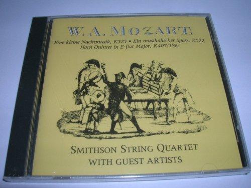 (Mozart Eine Kleine Nachtmusik, K.525 / Ein Musikalischer Spass in F, K.522 / Horn Quintet for Strings in E, K.407)
