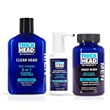 THICK HEAD HEAD START Hair Loss Treatment & Regrowth System for Men | Includes Shampoo and Conditioner, 5% Minoxidil, Hair & Scalp Supplements | Hair Loss, Hair Growth, Thinning Hair