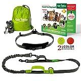 TAKE YANKEE Hands Free Dog Leash + Training Running Walking Leash - Small
