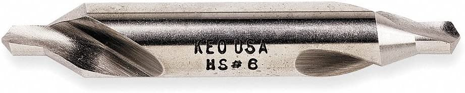 82?? 6 High Speed Steel Plain Center Drill