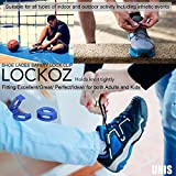 LOCKOZ Simple and Safe Clip-on Shoelace Knot