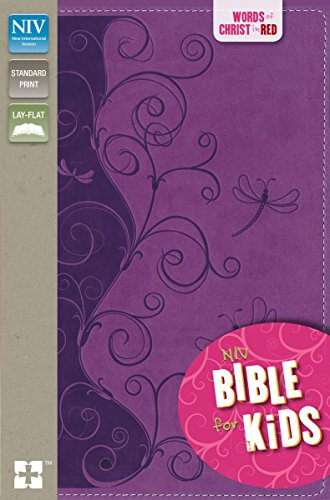 NIV, Bible for Kids, Imitation Leather, Purple, Red Letter: Red Letter Edition