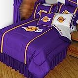 NBA Los Angeles Lakers Twin Sidelines Comforter Set