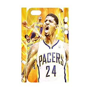 TOSOUL Cell phone Protection Cover 3D Case Paul George For Iphone 5,5S
