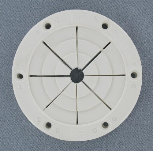 (Replacement Boat Parts White Round Rod Holder, Large)