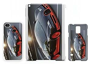 Bugatti Veyron Black Orange iPad AIR 2 Cubierta de la cáscara caso tableta