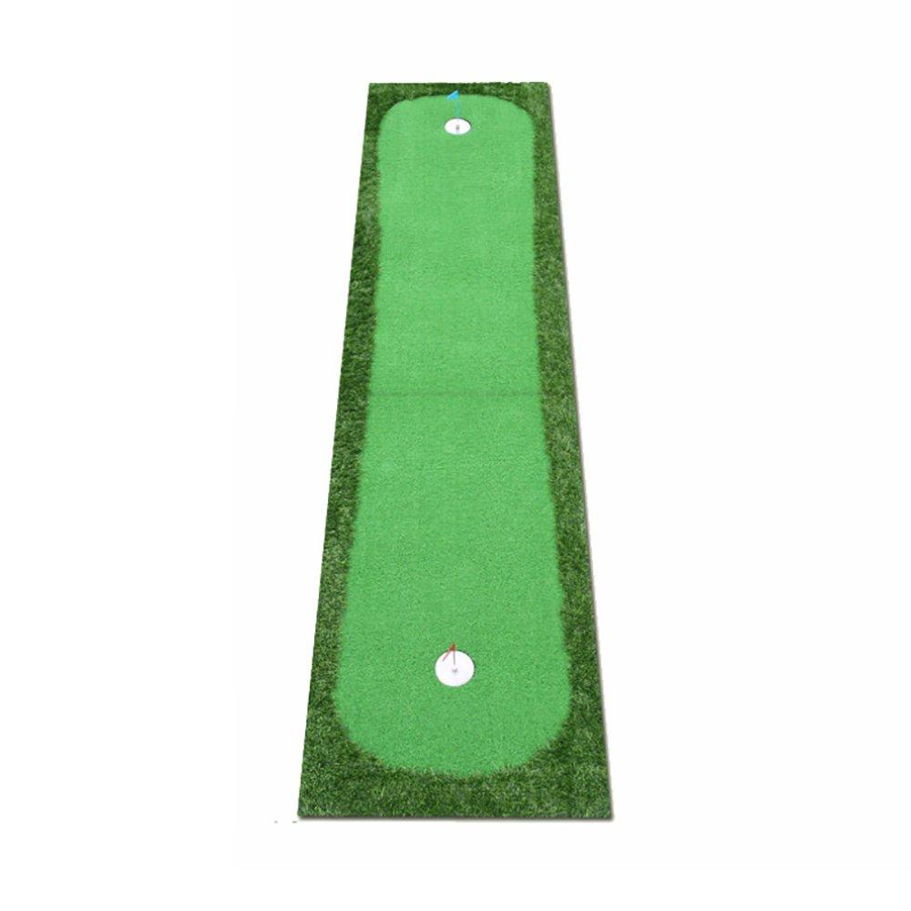 QAR ゴルフインドア練習マット パター練習マット 3サイズ オプションゴルフマット 100cm 014 100cm  B07H9XGLRF