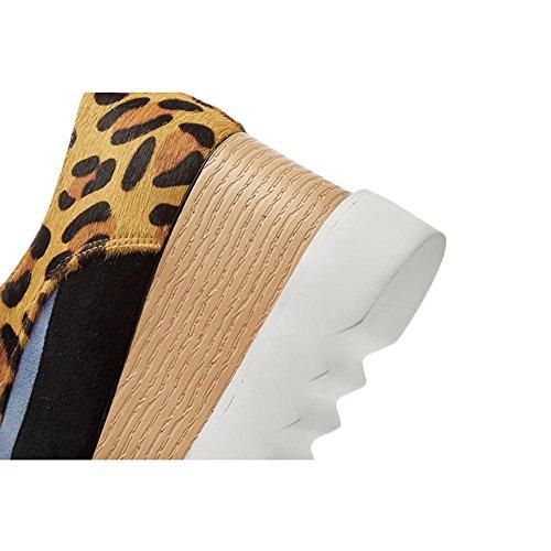 WSXY Parte con Superior Sujeción Moda de Creativa Plataforma Blue Mujeres de KJJDE Tela Zapatos A1819 Correa awYgRcIq