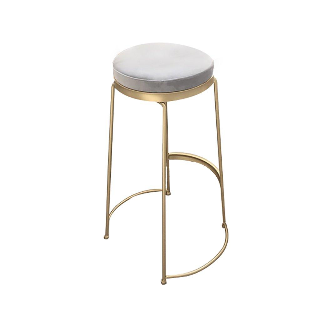 XUEPING アイロンバースツール/チェアホームキッチンレストラン椅子ゴールデンパーソナリティーアイデアバースツール/椅子四季シングル/ダブルカウンターチェアBarstool (色 : One) B07DHMYYV8One