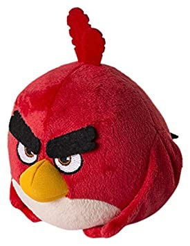 Angry Birds - Peluche Basico - Red, 12 cm
