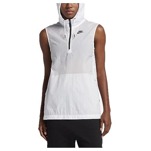 6a3a8c8890eb NIKE Womens Tech Hypermesh Full Zip Vest 833464 235 Khaki at Amazon Women s  Coats Shop
