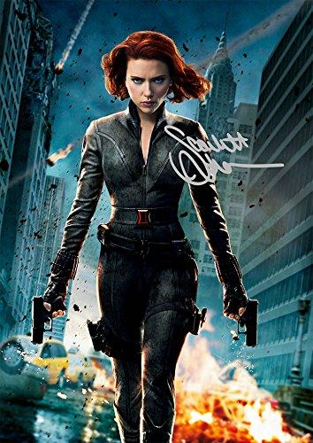 Black Widow Scarlett Johansson The Avengers Movie Print