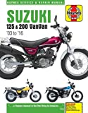 Suzuki RV125 & 200 Van Van Service and Repair Manual 2003-2016