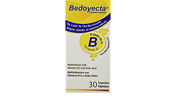 Amazon.com: Bedoyecta Multivitamin, 30 Capsules Each (Pack of 9): Health & Personal Care