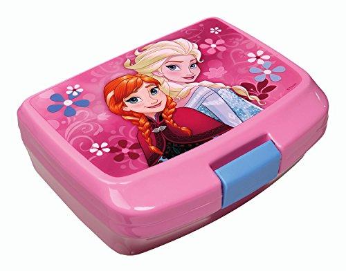 Scooli FRWD9900 - Brotzeitdose Disney Frozen, circa 13 x 17 x 6 cm, türkis